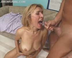 Real Mature Anal Sex